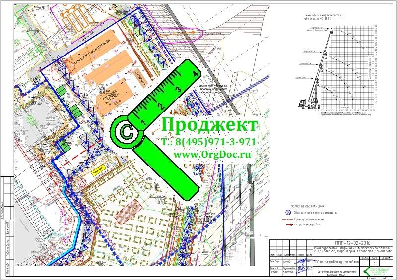 Пример ППР образец проекта производства работ на